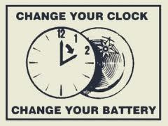 Spring Ahead - Sunday March 8th & Change the Smoke Alarm Battery too!